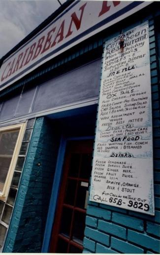 Caribbean Restaurant, Auburn Ave Business, July 29, 1994
