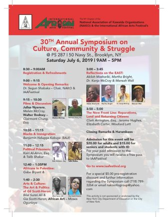International Arts Festival Symposium